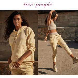 Free People Work It Out Hoodie + Jogger Set